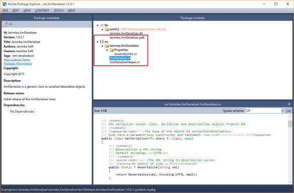 Jarimba.XmlSerializer.1.0.0.1.symbols.nupkg metadata and content